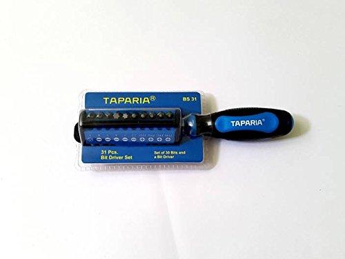 Taparia BS31 Steel Bit Driver Set (Multicolour, 31-Pieces) 2