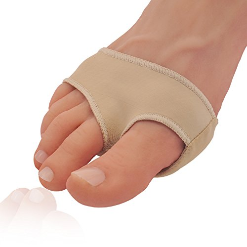 Two Piece Pad (Dr. Frederick's Original Gel Pad Metatarsal Sleeves - 2 Pieces Metatarsal Pads for Forefoot Pain-Metatarsalgia, Morton's Neuroma, Plantar Warts, Corns and Sesamoiditis - MEDIUM - W8-11 | M8.5-10)