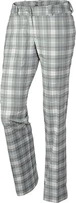 Nike Women's Modern Rise Tartan Pant - 4 - Base Grey