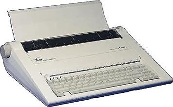 TRIUMPH-ADLER electrónico Máquina de escribir TWEN T 180 407x370x120 sin pantalla: Amazon.es: Oficina y papelería