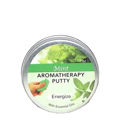 Zorbitz Inc. Aromatherapy Putty Tin, 1 ounce (Mint (Energize)) - Energize Therapy