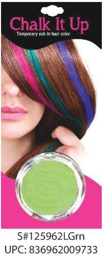 Amazon Com Salon Style Beauty Chalk It Up Hair Chalk Lite Green