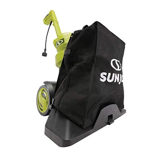 Sun Joe SBJ803E 14-Amp Walk Behind Indoor/Outdoor Corded-Electric Vacuum Blower + Mulc, Green