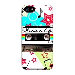 High-quality Durability Case For Iphone 5/5s(music Is Life)