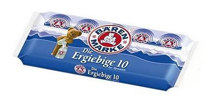 1 x Marca - Copa paquetes del oso Leche Crema de café Leche condensada
