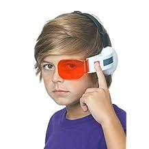 Bandai Dragon Ball Z Saiyan Scouter W/ Sound One Size Fits All- Red Lens