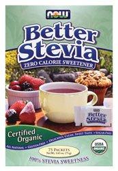 Mieux Stevia zéro calorie édulcorant organique 75 paquets