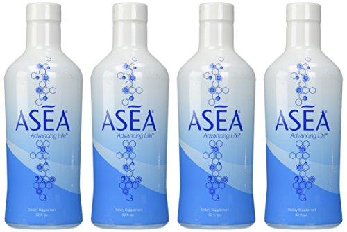 ASEA Water Dietary Supplement Bundle (4 32 oz Bottles) by ASEA