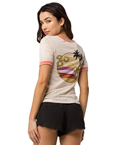 Rip Curl Golden Hour Ringer Tee, Multi, Small