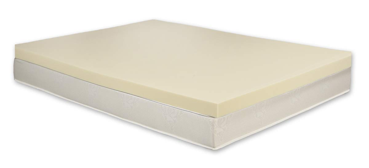 Carousel 100% Orthopaedic Memory Foam Mattress Topper | UK Small Double | 3