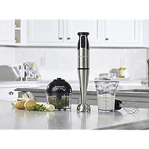 Cuisinart CSB-79 Smart Stick 2 Speed Hand Blender, Brushed Stainless Steel