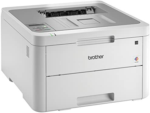 Brother HL-L3210CW Compact Digital Color Printer Providing Laser Printer Quality Results with Wireless, Amazon Dash Replenishment Ready, White 41ME1D7X2jL