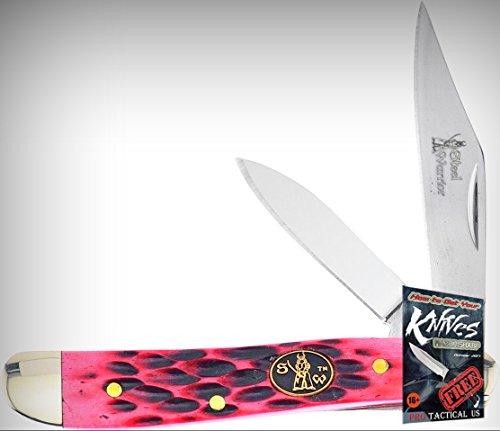 Frost Cutlery FSW107DRWJ Little Peanut 2 Blade Folding Limited Elite Knife Folder + free eBook by ProTactical'US ()