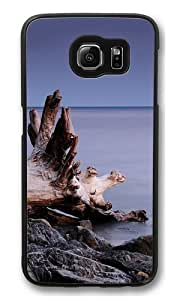Beach roots Custom Samsung Galaxy S6/Samsung S6 Case Cover Polycarbonate Black