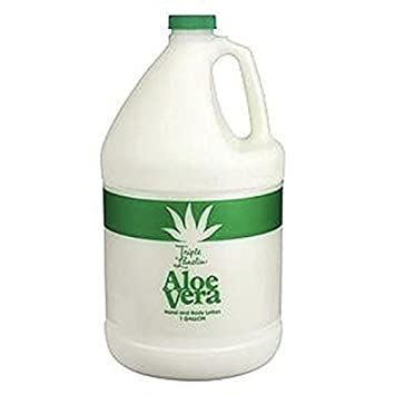 TRIPLE LANOLIN Aloe Vera Lotion,1 Gallon