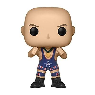 Funko POP! WWE: WWE - Kurt Angle (Ring Gear): Toys & Games