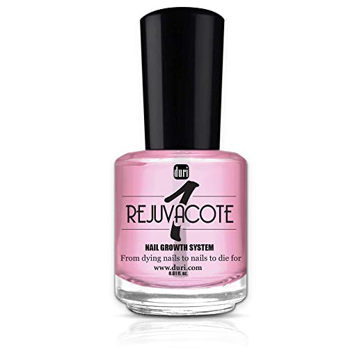 duri Rejuvacote 1 Original Maximum Strength Nail Growth System, Base and Top Coat, 0.61 fl.oz.