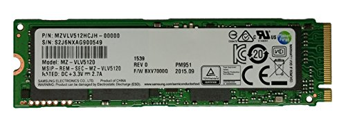 Samsung 512GB M.2 PCI Express Gen3 x4,Solid state drive SSD,PM951