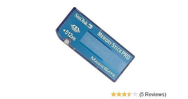 SanDisk 512MB Memory Stick Pro Card (Bulk)