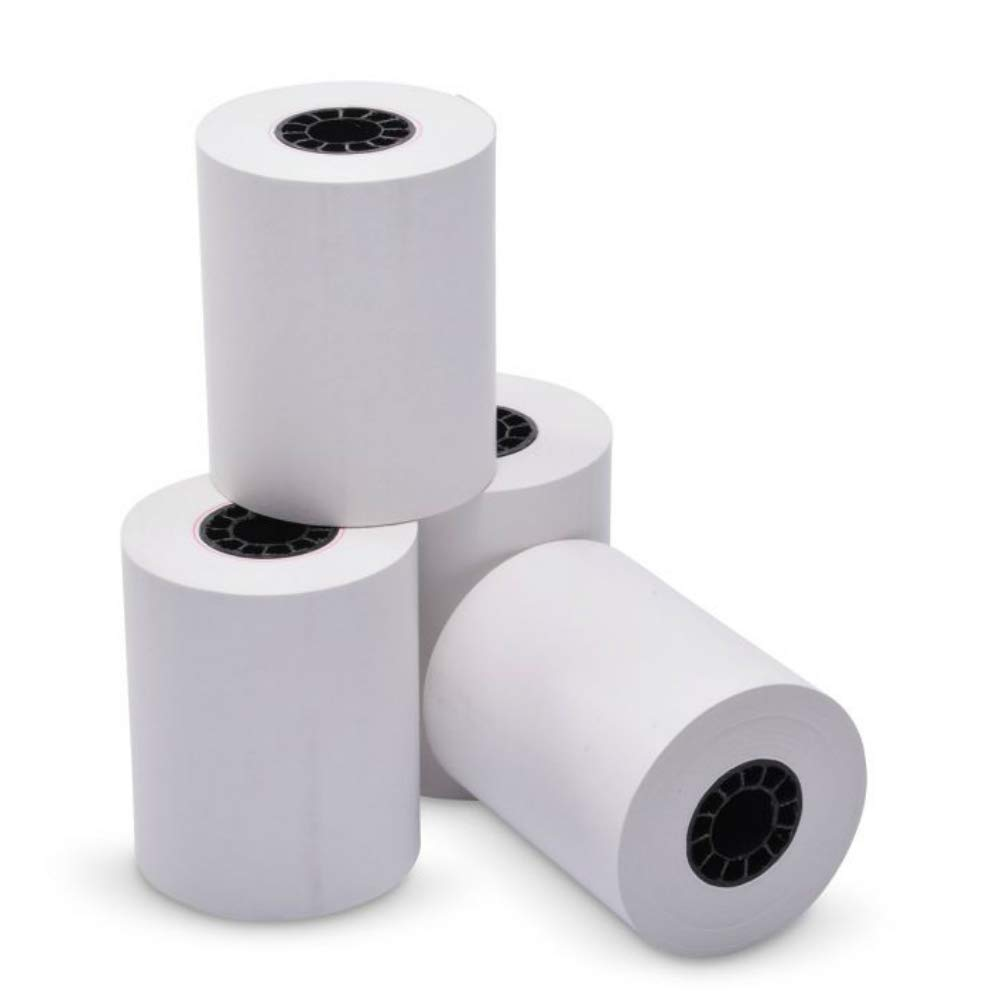 TEK POS Paper 2 1/4'' x 85' Thermal Paper - MADE IN THE USA - BPA Free - 50 Rolls