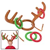 #10: Fun Express Inflatable Reindeer Antler Ring Toss Game