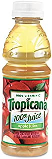 product image for Tropicana 57178 100% Juice, Apple, 10oz Bottle, 24/Carton