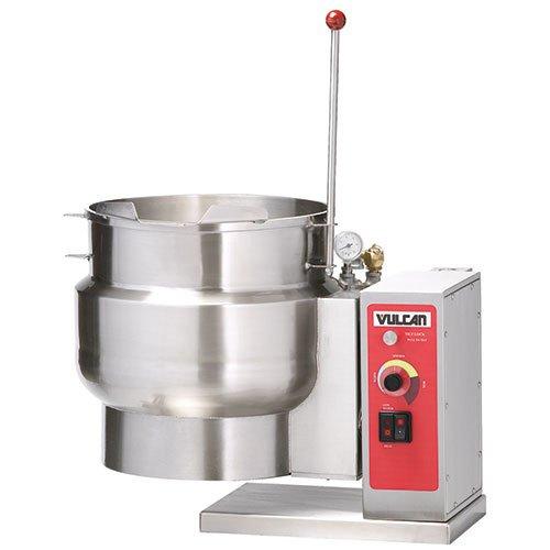 - Vulcan K6ETT Countertop Tilting Steam Kettle, 6 Gallons