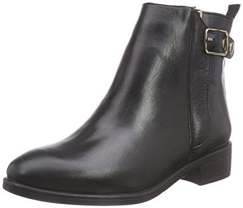 Halbschaft Schwarz Stiefel SISTA Damen Black Inuovo OqS7Exz8