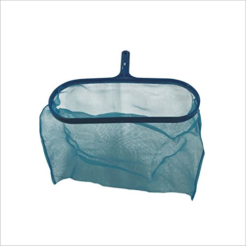 DEEP LEAF NET SKIMMER FOR SWIMMING POOLS 17 INCH WIDTH Blu-Line