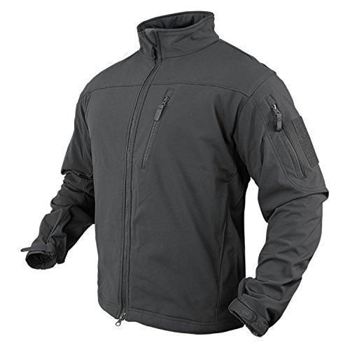 Condor 606 Mens Phantom Softshell Jacket, Graphite - XXXL