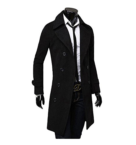Long Mens Overcoat - 8