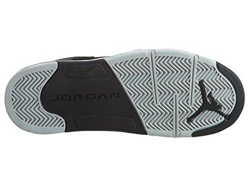 Nike Baby Boys Air Jordan 5 Retro BP OG Metallic Black/Fire Red-Mtllc Silver Suede Size 1Y by Jordan (Image #7)