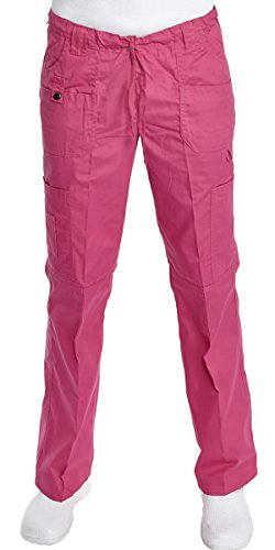 Hey Women's Junior Fit 9 Pocket Baby Twill Scrub Pants Small - Hey Uniforms