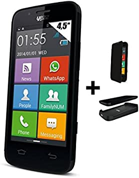 Yezz Andy AZ4.5 - Smartphone libre Android (pantalla 4.5
