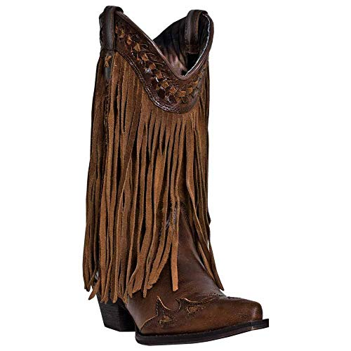 Dingo Women's Heart Throb Western Boot,Rust Triad,6.5 M US