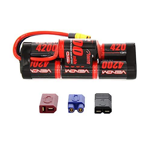 Venom 8.4v 4200mAh 7-Cell Hump Pack NiMH Battery with Universal Plug System (Li Po Battery Vs Li Ion Battery)
