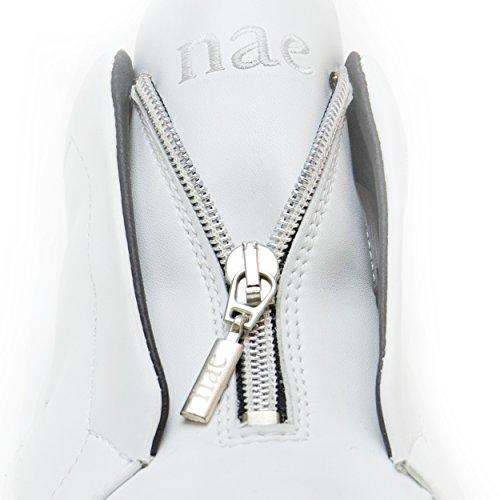 Nae Pour Baskets Blanc Véganes Onzip Femme qAP4wAz1