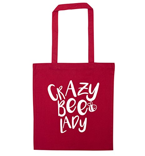 Crazy bag tote lady bee Red lady bee Crazy rwYxRr4zaq