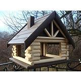 Exclusive 2XL Large Wooden Bird Table House Bird Feeder & Nesting House