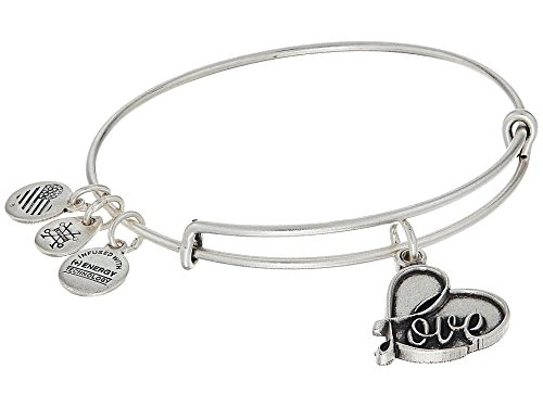 Alex and Ani Love IV Charm Bracelet ()
