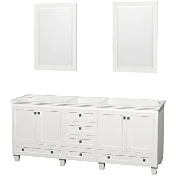 Wyndham Collection Acclaim 80 Inch Double Bathroom Vanity
