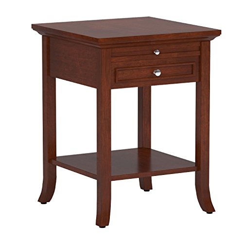 Convenience Concepts American Heritage Collection Logan End Table with Drawer and Slide, Mahogany by Convenience Concepts (Image #3)