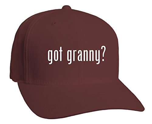 got granny? Adult Baseball Hat, Maroon, Large/X-Large (Hat Granny)