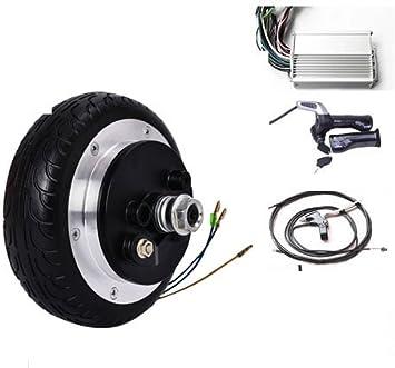 GZFTM 6.5 Pulgadas 48v 350w eléctrico Scooter Motor Kit eléctrico monopatín conversión Kit eléctrico Silla de Ruedas Motor Kit