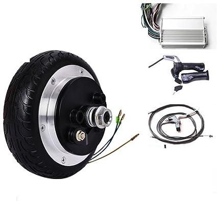GZFTM 6.5 Pulgadas 48v 350w eléctrico Scooter Motor Kit eléctrico monopatín conversión Kit eléctrico Silla de