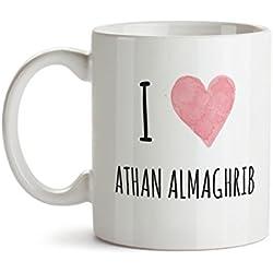 Ramadan Mug - Ramadan Mubarak - Ramadan Gifts - I love Athan ALmaghrib - Islamic gifts - Islamic Mug - Arabic Gifts - Eid Gifts