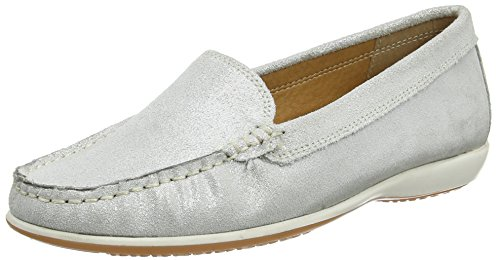 Lotus WoMen Conforti Loafers Silver (Silver)