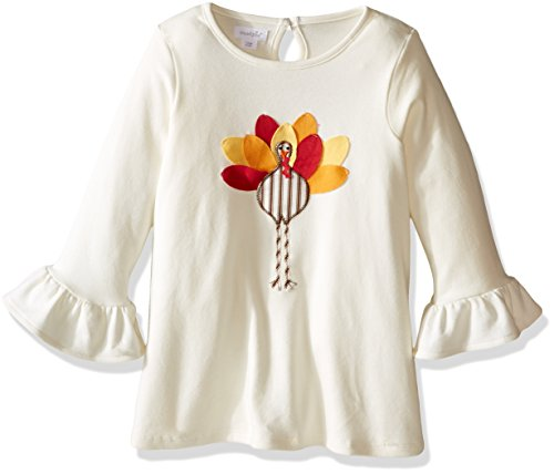 Mud Pie Baby Toddler Girls' Holiday Tunic Playwear, Turkey, 4T/5T