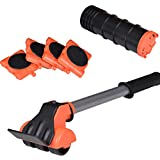 Yxisn5 Furniture Lifter Furniture Move Tools - with 4 Furniture Mover Rollers Max Up for 330 LBS for Clean House by