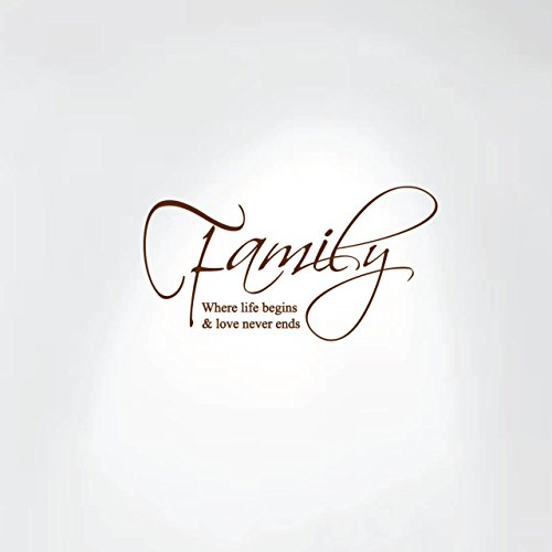 family decals brown - 8
